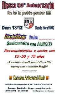 Fiesta 93 aniversario